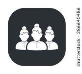 vector illustration of business ... | Shutterstock .eps vector #286640486