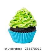 Chocolate Cupcake Decorated...