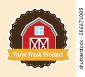 farm concept design  vector... | Shutterstock .eps vector #286671005