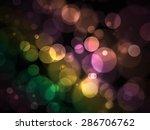 color bokeh abstract light... | Shutterstock . vector #286706762