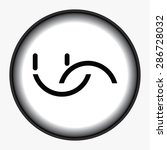 smile icon | Shutterstock .eps vector #286728032