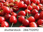 cherry background | Shutterstock . vector #286752092
