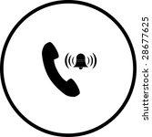 Telephone Ringing Symbol
