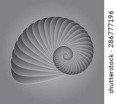 nautilus shell | Shutterstock .eps vector #286777196