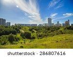 view from krylatskoye hill   Shutterstock . vector #286807616