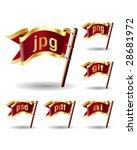 abbreviation,ai,antique,attachment,badge,button,computer,data,design,digital,document,download,element,emblem,extension