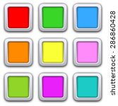 square blank icons in flat... | Shutterstock .eps vector #286860428