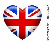 Heart Shape Of United Kingdom...