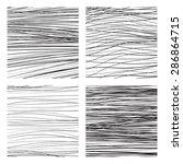 abstract vector backgrounds set ... | Shutterstock .eps vector #286864715