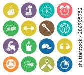vector illustration of sport...   Shutterstock .eps vector #286905752