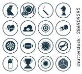 vector illustration of sport... | Shutterstock .eps vector #286909295