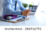 doctor type keyboard with... | Shutterstock . vector #286916792