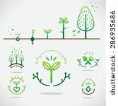plant icon | Shutterstock .eps vector #286935686