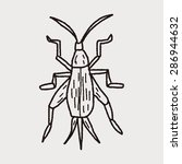 insect doodle | Shutterstock .eps vector #286944632