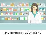 modern flat vector illustration ... | Shutterstock .eps vector #286946546
