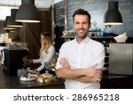 successful small business owner ... | Shutterstock . vector #286965218