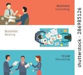 illustration of business...   Shutterstock .eps vector #286985126