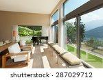interior of a modern apartment... | Shutterstock . vector #287029712
