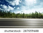 road in mountain forest | Shutterstock . vector #287059688