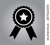 award ribbon icon | Shutterstock .eps vector #287062055