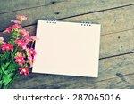 empty calendar. | Shutterstock . vector #287065016