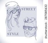 men and women fashion...
