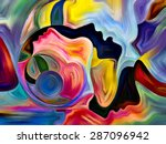 colors of fate series. backdrop ... | Shutterstock . vector #287096942