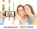Blurred Friends Taking Photos...