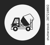 truck icon | Shutterstock .eps vector #287218802