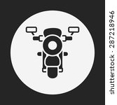 motorcycle icon | Shutterstock .eps vector #287218946