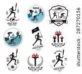 A Set Of Sports Logos  Emblems...