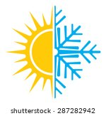 air conditioning vector icon  ... | Shutterstock .eps vector #287282942