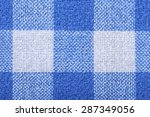 blue and white seamless... | Shutterstock . vector #287349056