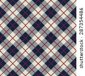 Seamless Scotland Check Patter...