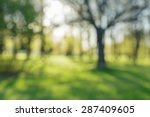 defocused bokeh background of... | Shutterstock . vector #287409605