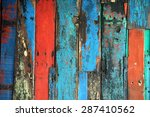 patterned and textures... | Shutterstock . vector #287410562