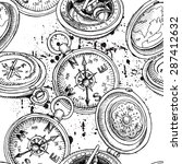 seamless pattern of different...   Shutterstock .eps vector #287412632