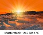 Beautiful Sunrise And Natural...