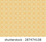 arabic seamless patterns.... | Shutterstock .eps vector #287474138