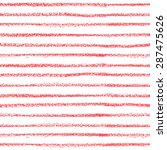 seamless striped pattern. hand... | Shutterstock .eps vector #287475626