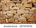 Structure Of A Stone Wall....