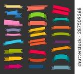 paper sticker  banner... | Shutterstock .eps vector #287509268