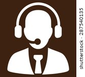Call Center Icon From Business...