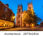 York Minster In The Evening  I...