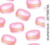 vector seamless watercolor...   Shutterstock .eps vector #287588786