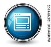 browser window button | Shutterstock .eps vector #287596502