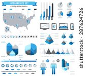 a comprehensive vector template ... | Shutterstock .eps vector #287624726