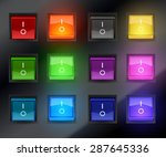 set of different color switch...