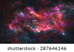 space galaxy background with...