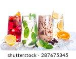 delicious refreshing summer...   Shutterstock . vector #287675345